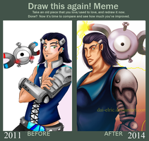 Meme  Before And After - Aaron by Dai-Elric
