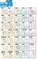35 Expressions by Nukude