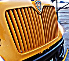 Bus Grille by meggyweggy