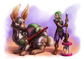 Battle Bun by Risachantag