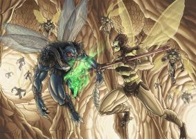 Patreeks Spyfly vs BuzzOff by Killersha