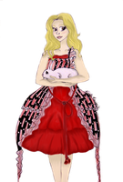 Alice's Um Dress in GIMP by TheTerminatrix77