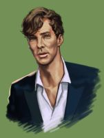 Cumberbatch Study by Darke-Imp