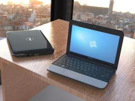 Dell Inspiron Mini 10a by Marian87