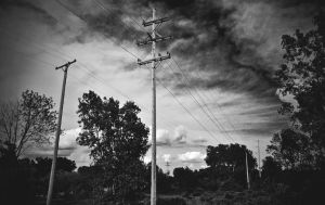 black clouds split the median by gabthechief