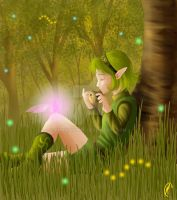 saria's song by Know-Kname