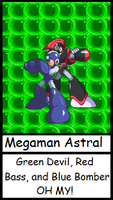 Megaman Astral:Prologue Cover by Terry93