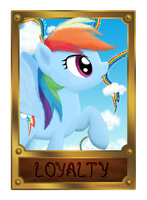 Rainbow Dash - Element of Loyalty by Nimaru