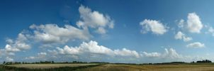 Sky over North Holland by BlokkStox