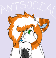 Ms. Antisocial by PI0SON
