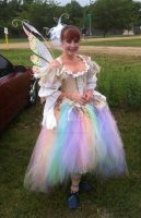 Bubble Fairy Costume front by glittrrgrrl