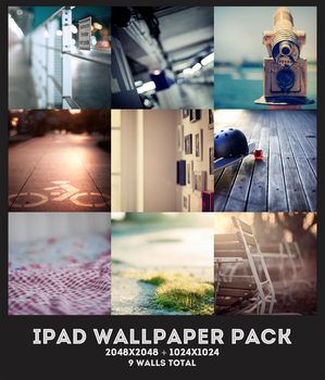 iPad Wallpaper Pack by midnighttokerkate
