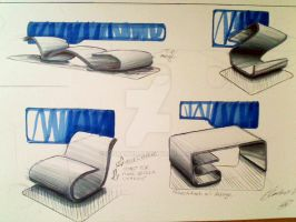 industrial design sketching by IDdrawer