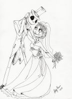 jack and sally love by Angel2489