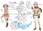 OC - Chamelotte and Charl ColorBase by MONO-Land