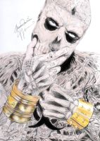 Rico The Zomie Boy Rick Genest by Bring-the-Pain40