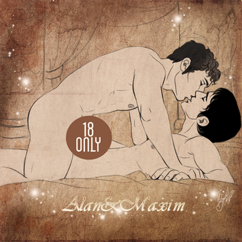AlanxMaxim-You and me... by RedPassion