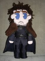 Robb Stark doll (Game of Thrones) by drusnemet