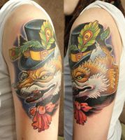 Fox tattoo  by Xenija88