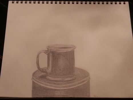 Cup on Tin by Bradley7r
