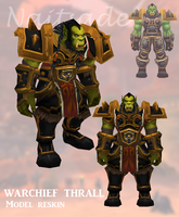 Warchief Thrall - Model Reskin by Naitsade