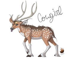 Chital Tongue For You by AlfaFilly