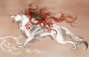 Amaterasu Close-Up by Vyrilien
