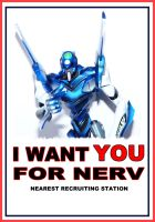I want you for NERV by wellknown3th