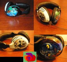 My first custom headphones by gandiusz