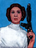 Princess Leia by asamamoru