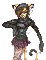 Laura Kitty in cool sweater by mrinx