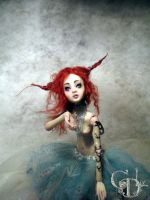 New ball jointed doll creepy F by cdlitestudio
