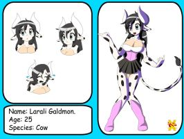 Larali the cow by DiscoSaeba