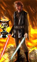 anakin skywalker by mahirtekdal