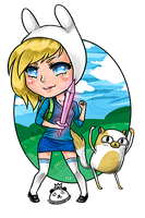 Fionna Keychain by PandaBeans