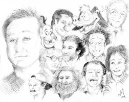 The Robin Williams Tribute by UNlucky0013