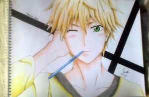 Usui Takumi (the perfect stalker) by SarahUsagi-chan