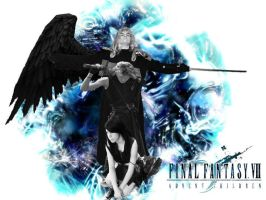 Advent Children by lilburi4ever