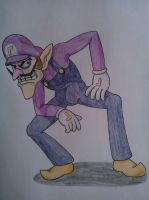 Waluigi by MesophaneGryyn
