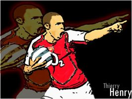 Thierry Henry by Enzoide
