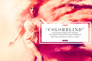 ColorBlind - Photoshop Actions Bundle - 6 Unique by ShekFilters
