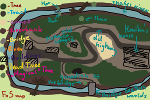 Forest of Shadows map by Ardnaksela