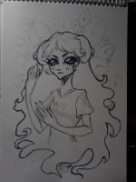 Aradia Megido Sketch by Bloodysfish