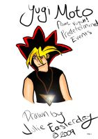 Yugi from Predetermined Events by Gabriel-loki