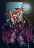 Morrigan by AshDayArt