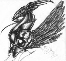 Oldies: ahm.. a griffon... by driany