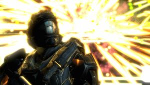 Halo: Reach - Lorn by pizzagrenade