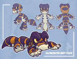 My Babby Kilo Plush by Reanimated-K