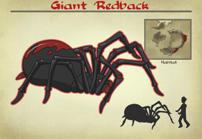 Giant Redback by vampire-chicken
