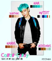T.O.P : Cotton Candied - Pantone Card by christinepputra